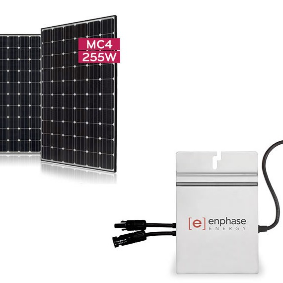 LG255-Enphase 215 Package